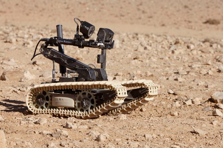 Bomb Disposal Robot - MILITARY PHOTO PRINTS  UK