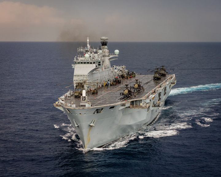 ,L12,HMS Ocean - MILITARY PHOTO PRINTS  UK