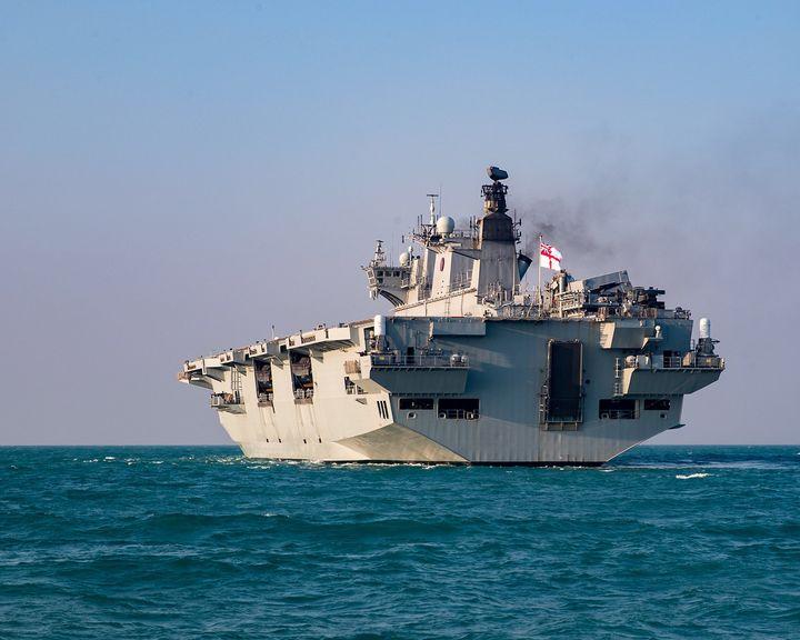 L12,HMS Ocean - MILITARY PHOTO PRINTS  UK