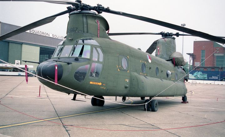 Boeing CH-47D Chinook Serial M.3667 - MILITARY PHOTO PRINTS  UK