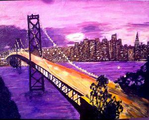 New York in Purple
