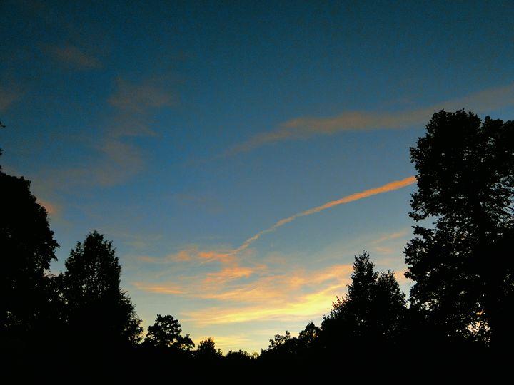 hometown sunset - unknownApe