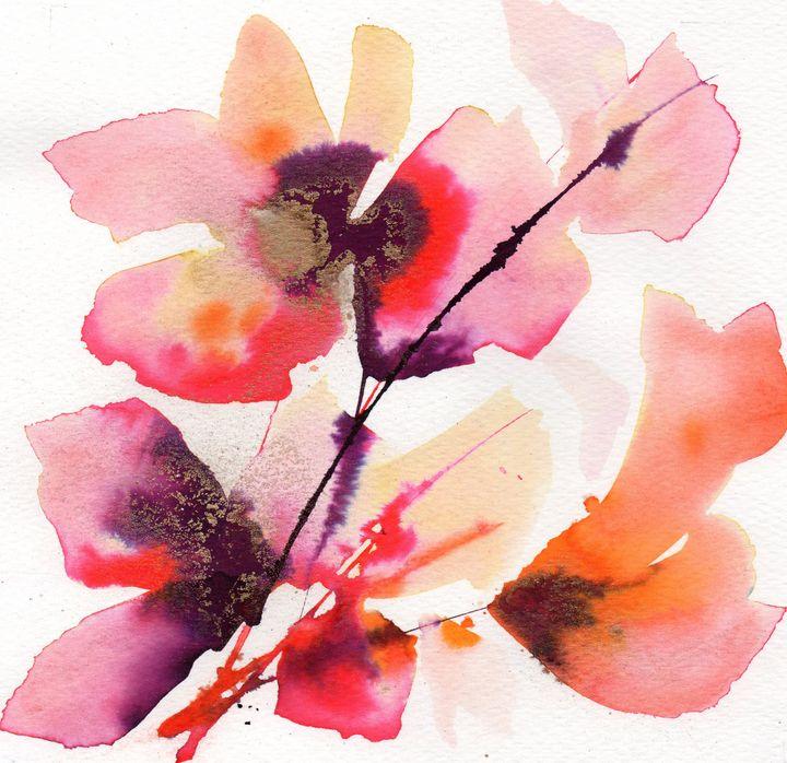 Flaming poppy - ANN TURNER ART
