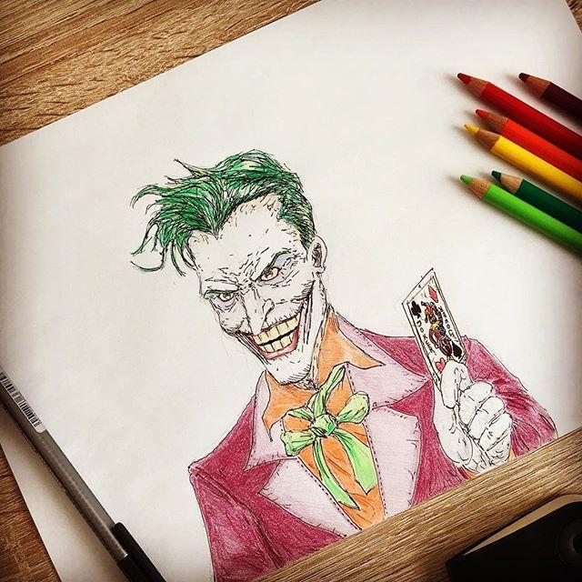 Joker portrait - Adil Yousifi