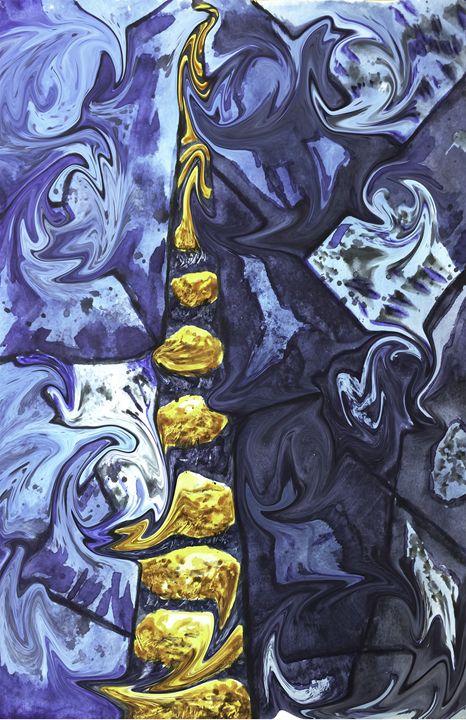 Liquid Stones - Nehemiah Art