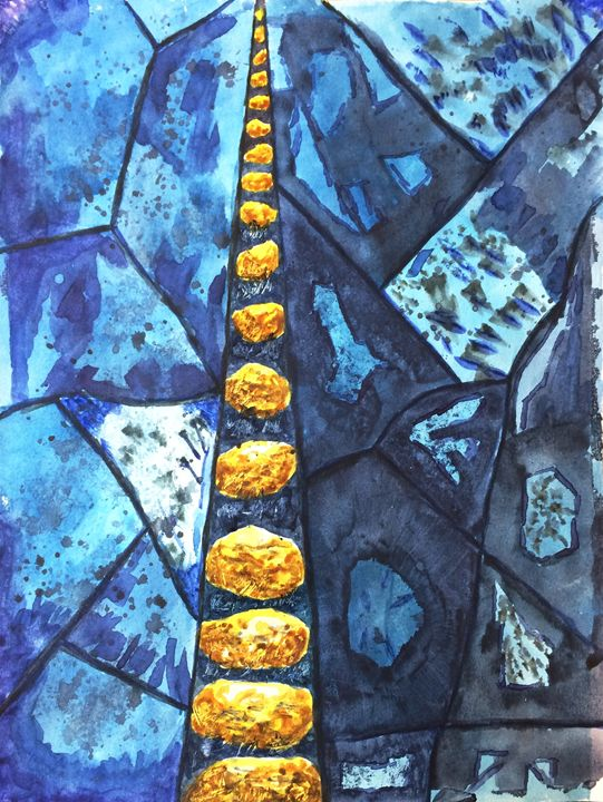 Stepping Stones - Nehemiah Art