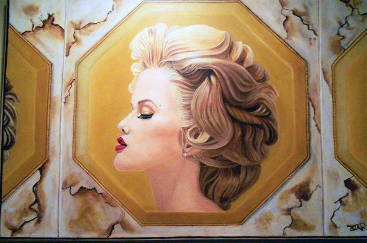 """""""SHE BELONGS ON A COIN"""" - My JP Art"""