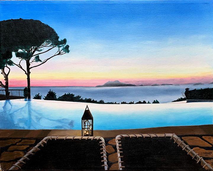 Dusk at Anacapri - My JP Art