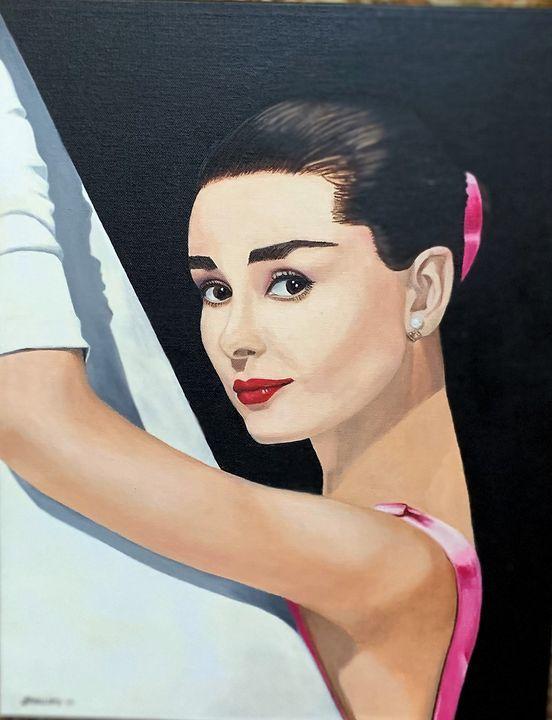 """""""Audrey Hepburn"""" - My JP Art"""