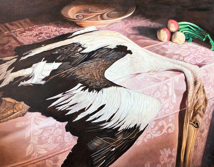 Pelican Still Life - My JP Art