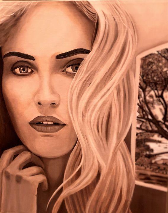 Pensive Woman - My JP Art