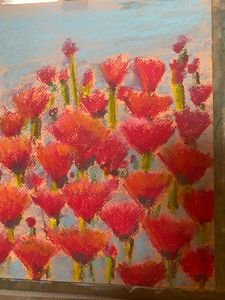 Poppies impressionist - Tom Gaudreau Art