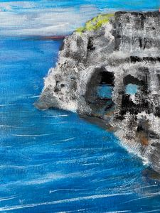 Greek Island Dreaming - Tom Gaudreau Art
