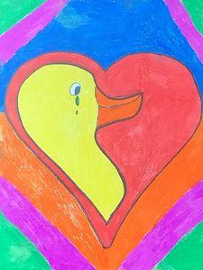 Choose Love Art Drawling