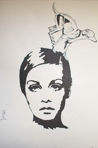 Mary Art: Twiggy
