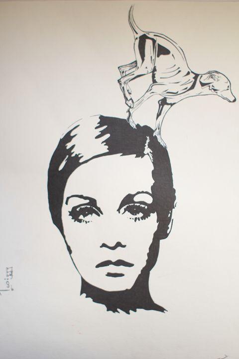 Mary Art: Twiggy - Mary