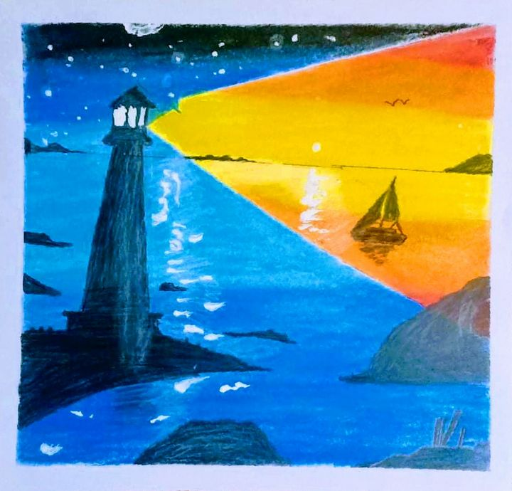 Light House Double Exposure - lhanz gallery