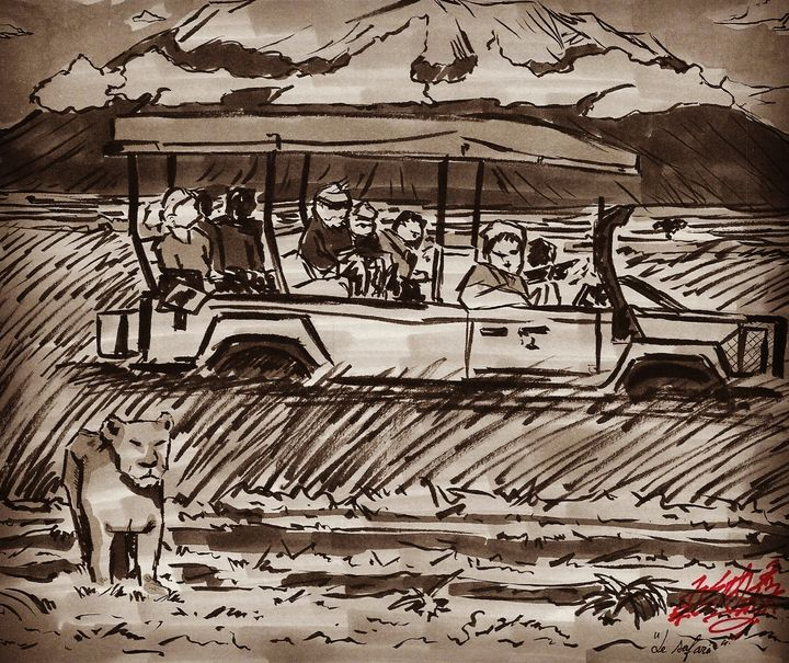 Le safari (The safari) - Jonathan