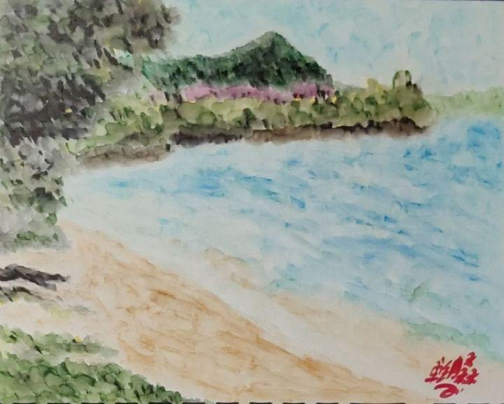 The beach - Jonathan
