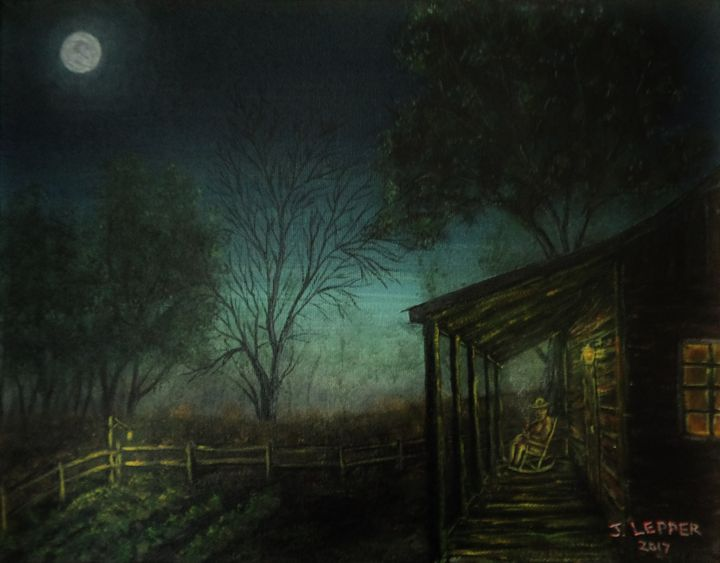 A Late Evening Smoke - Jack Lepper