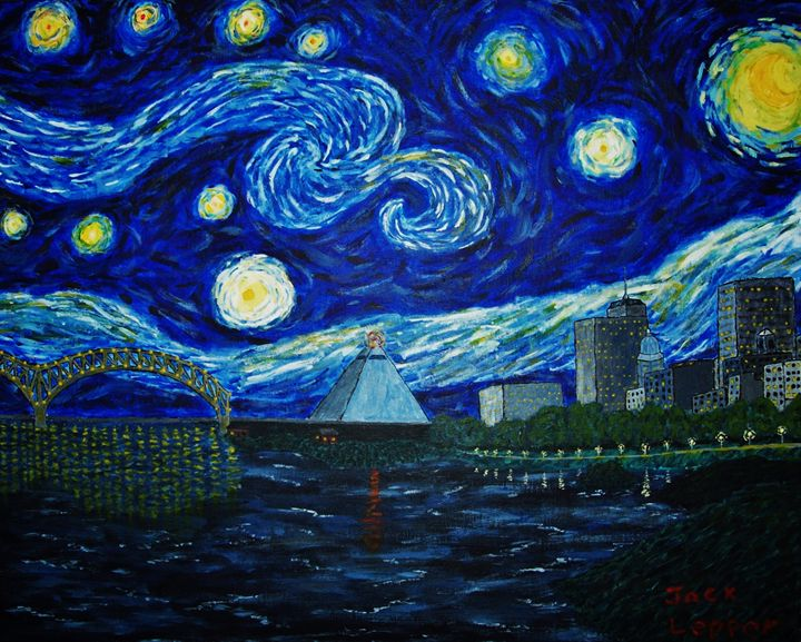 Memphis Starry Night - Jack Lepper