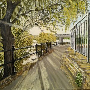 "Original oil painting ""Sunshine"""