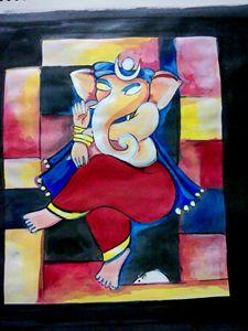 Ganesha- Modern Art