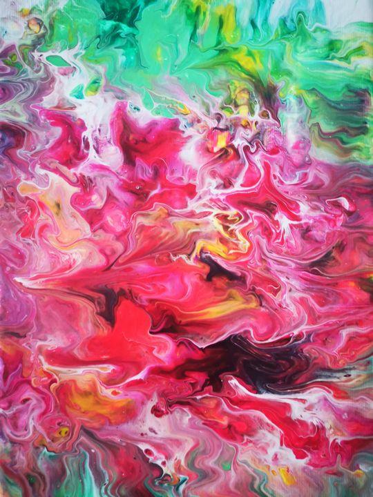 Splash of happiness - Ines