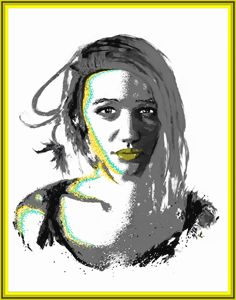 Pop Art Portrait Series  #6