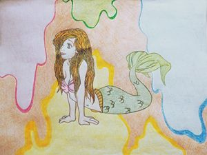 Colourful Mermaid