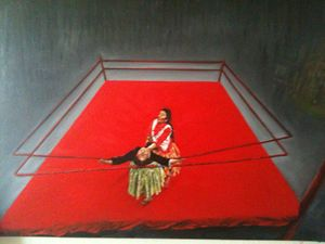 Making a Living, No Bull - nalan's paintings