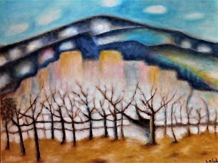 Sacred Mountain - nalan's paintings