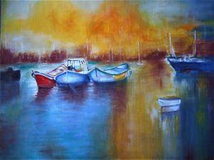 Quiet Harbor - nalan's paintings