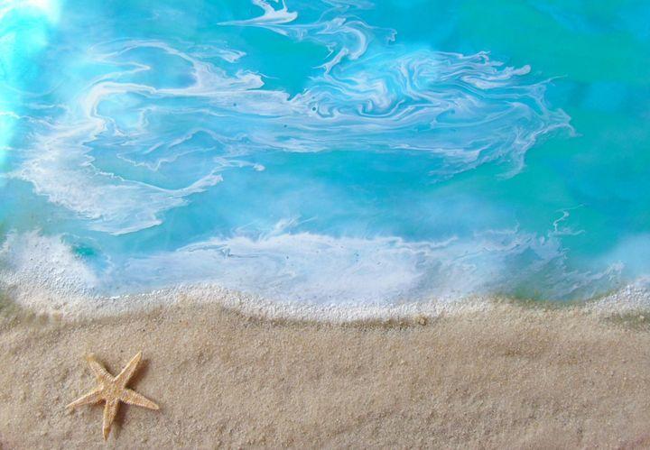 Lifes a beach - Negative Space