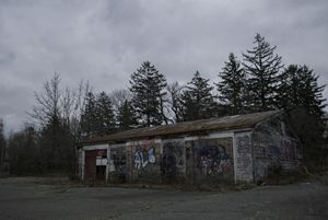 Vandalized Garage
