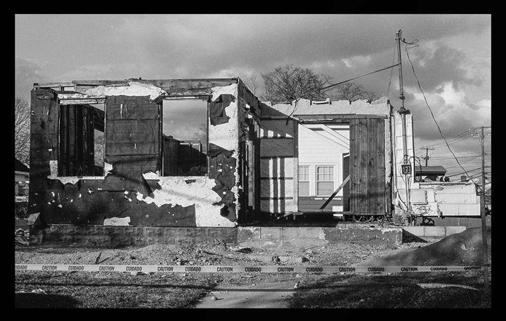 Burned Home - Raquel Loeza Photography