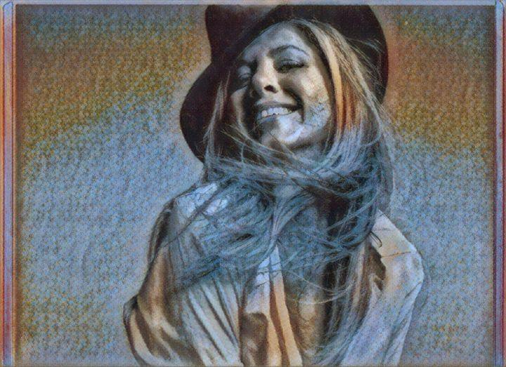 Jennifer Aniston Autograph Art ❤️ - Colorbook Reality Digital Art