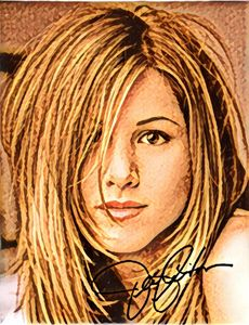 Jennifer Aniston Autograph Art ❤️