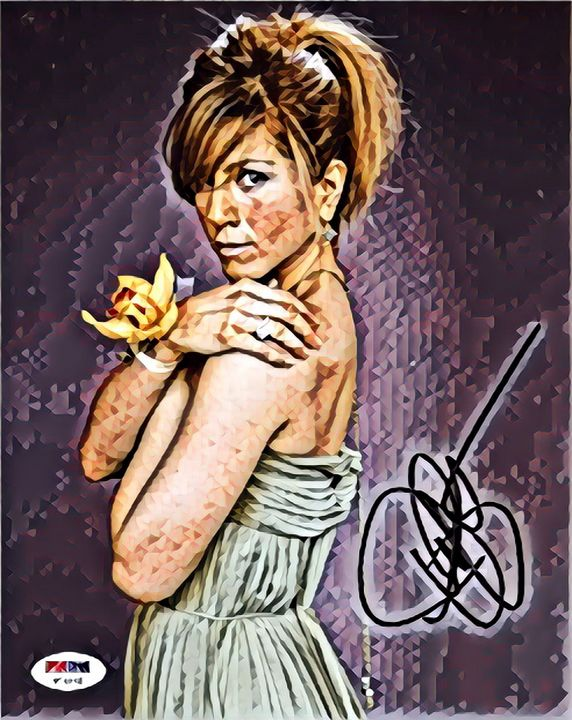 Jennifer Aniston Autograph Art ❤️ - Colorbook Reality Digital Art