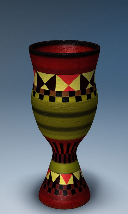 Colorbook Digital Pottery 3D - Colorbook Reality Digital Art