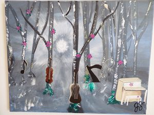 String forest