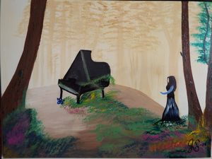 Piano in the Forest