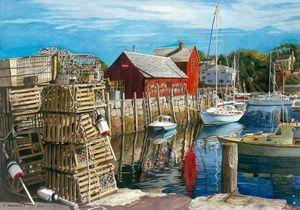 Rockport Harbor Massachusetts