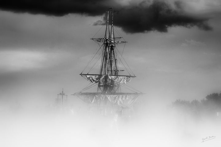 Hermione in the mist - Gerald Bohic
