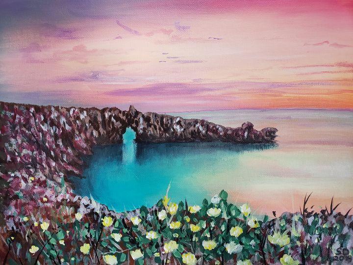"""Brushed Paradise"" - Art By Shannon"