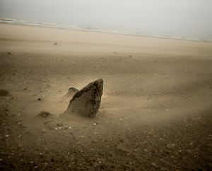 Sands eroded by time.