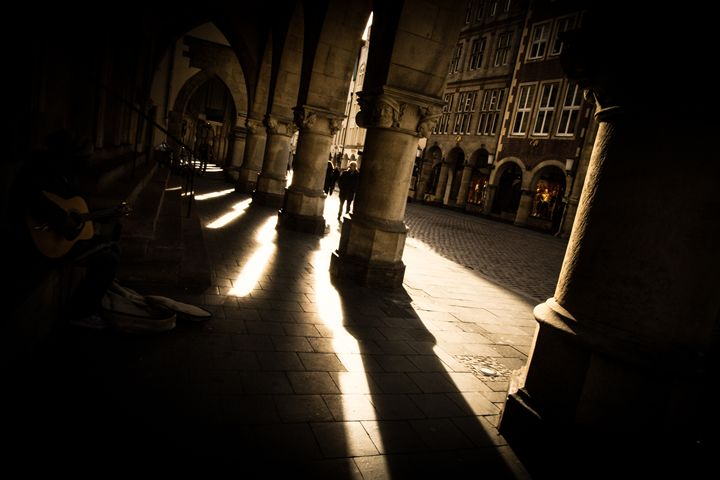 The arches of Münster - Old world Arts