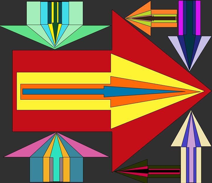 Many Arrows - Design Party